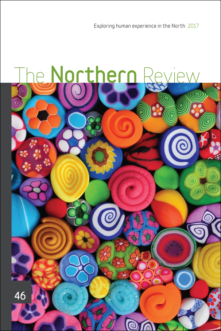 Northern Review 46 Cover | Lara Melnik artist