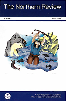 "Northern Review Front Cover 2: ""Imagination"" by Mary Okheena"