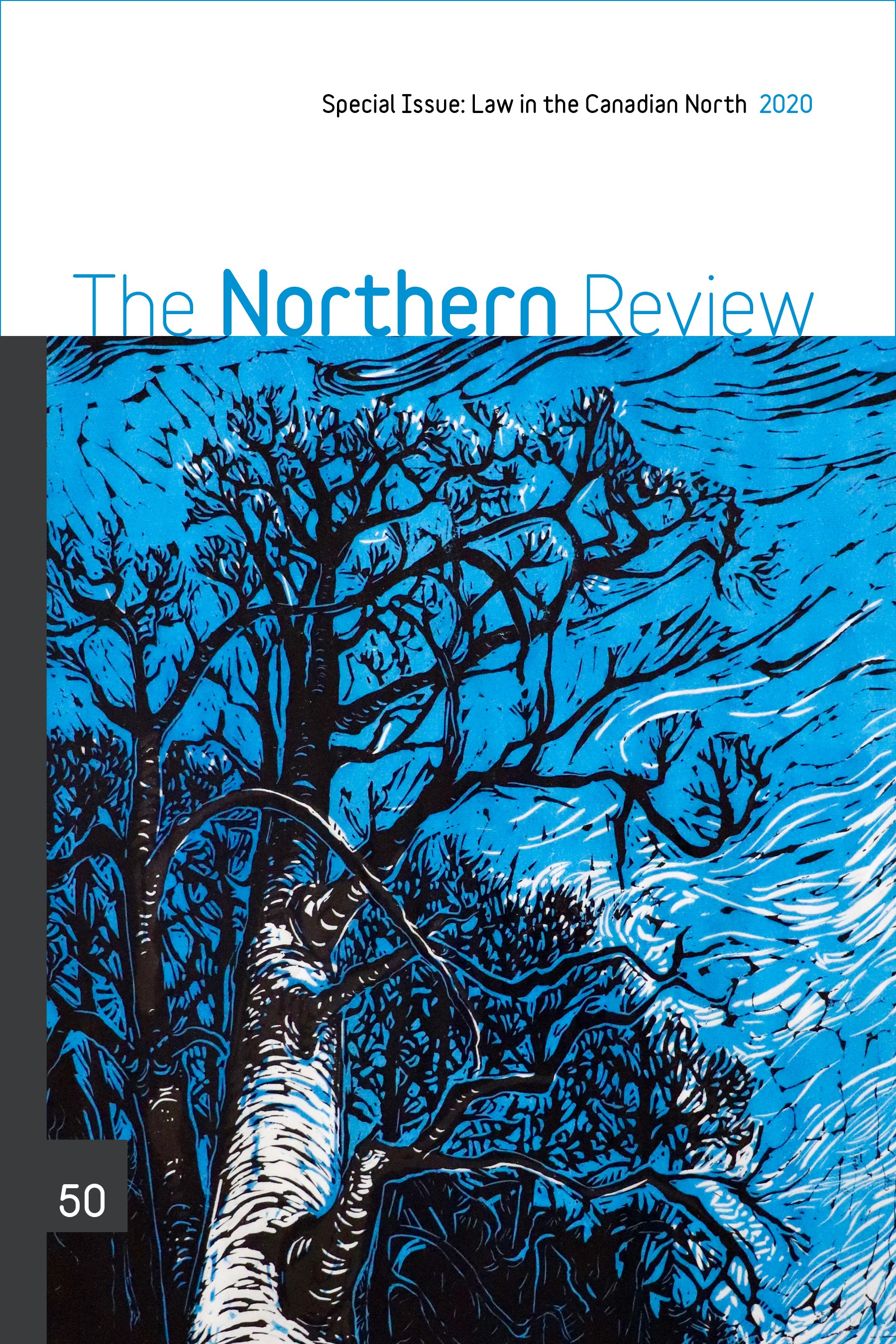 The Northern Review 50 | Cover