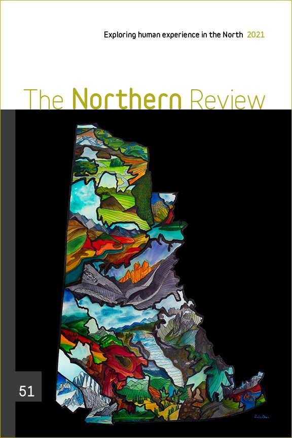 Northern Review 51 Cover Yukon Ecoregions by Amber Church